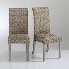 chaise kubu chaise kubu tressé lot de 2 lunja want la mode
