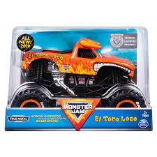 100 Monster Trucks Crashing Spin Master Jam Jam Official El Toro Loco