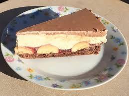 schokoladen bananen torte