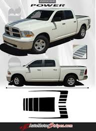 100 Ram Truck Decals 20092018 Dodge Power Wagon Decal Hood Rear Side Strobes