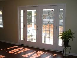 Patio Door With Blinds And Pet Door by French Patio Doors With Dog Door Classical Elegance And Charm