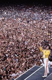 Freddie Mercury On Stage By Denis ORegan Wembley London