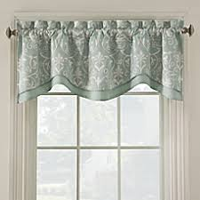 Mint Curtains Bed Bath And Beyond by Window Scarves Window Valances Bed Bath U0026 Beyond