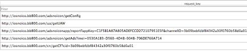 C2 server access logs in cache in a victim s iPhone