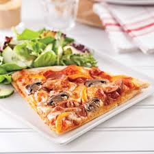 recettes de cuisines pizza minceur toute garnie recettes cuisine et nutrition