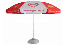Pepper Promotion Sun Outdoor Garden Umbrella UV Protection With 210D Oxford Fabric