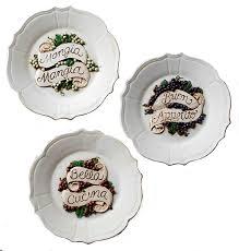 Italian Decorative Wall Plates Kitchen Decor