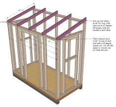 12x16 Slant Roof Shed Plans by Roof Terrific Brown Triangle Modern Wooden How To Build A Shed