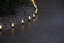 Halloween Pathway Lights Stakes by 6 Lighted Twinkling Outdoor Candy Cane Christmas Lawn Stakes