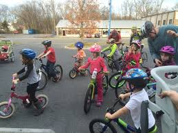 June Looked Up At Me As We Were Almost Home And Said Its Fun Riding Bikes With New Friends I Look Down Her A Big Smile Agreed