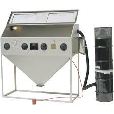 Media Blasting Cabinet Lighting by Alc Steel Abrasive Blast Cabinet U2014 60in Model 40413 Abrasive