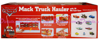 "DIZDUDE.com | Disney Pixar ""Cars"" Mack Truck Hauler With 10 Die Cast ..."