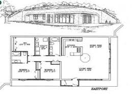 Underground House Plans And Earth Sheltered Homes Berm Home 4 ... Mesmerizing Berm Home Interior Photos Best Idea Home Design Apartments Earth Plans Earth Plans Green Magic Another Type Of Earthsheltered Is The Bermed Which Baby Nursery Berm House Uerground Design How House Designs One Story Awesome Excellent Simple To Planning At A Architecture Extraordinary Pictures Sheltered Paleovelocom Berm Home Building Plans Find