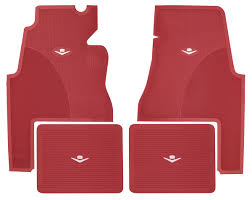 1959 60 Cadillac Floor Mats Original Style Rubber 2 Door OPGI