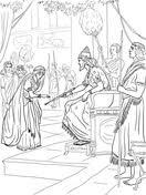Esther And King Xerxes