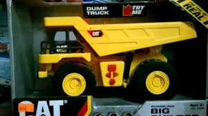 CAT Dump Truck Toy - YouTube