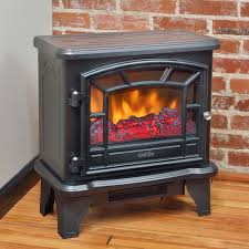 Decor Flame Infrared Electric Stove by Duraflame 550 Black Electric Fireplace Stove Dfs 550 21