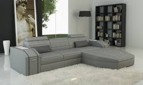 Grey Sectional Living Room Ideas by Living Room Divani Casa Grey Sectional Modern Grey Fabric