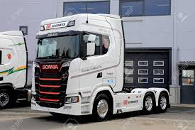LAUKAA, FINLAND - MAY 19, 2017: Next Generation Scania S730 Truck ... Central Jersey Trucking Rigging Inc Home Facebook Point Man Crushed In Truck Crash Sues Trucking Company For Groups Photo Gallery Hartford Ct Jb Hunt Dcs Region Tonnage A Record August Curtain Van Trailer Services California Flatbed Truck Refrigerated School Inspirational May Ak Sales Aledo Texax Used And Best Equipment Jobs Cti Oregon Company Drivers American Transport Get Pay Raise