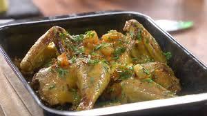 mytf1 recette cuisine recette de crapaudine de poulet à l ananas petits plats en