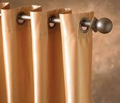 Sunbrella Curtains With Grommets by Sunbrella Outdoor Curtain Panel In 12 Colors