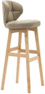 Solid Wood Bar Stools Counter Kitchen Breakfast High Chair ...