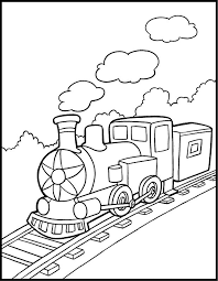 28 Train Coloring Pages For Kids Print Color Craft