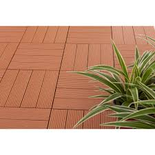 v1602 vifah metawood deck tiles composite teak snap to install