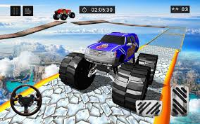100 Monster Truck Nitro 2 3D Grand Stunts Driver For Android APK Download
