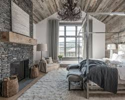 Inspiration For A Rustic Bedroom In San Diego