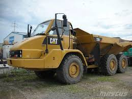 Used Caterpillar 725 Articulated Dump Truck (ADT) Year: 2013 Price ...