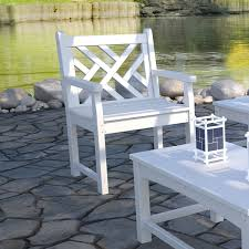 Polywood Rocking Chair Target by Polywood Chippendale 24 In Bench Is Perfect For Creating An