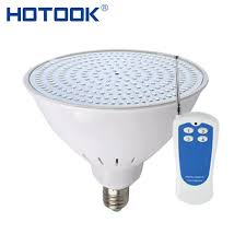 hotook underwater lights e27 e26 par56 led pool light 120v 12v 35w