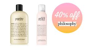 Extra 40% Off Philosophy Coupon Code - A Couponer's Life