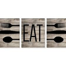 Charming Design Eat Wall Decor Chic Inspiration Best Kitchen Art Products On Wanelo