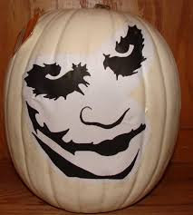 Joker Pumpkin Carving Patterns by Joker White Foam 2010 Pumpkin Carving Gallery