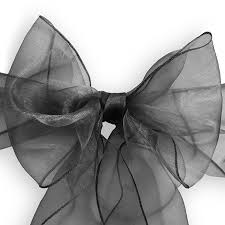 Details About 10 Organza Wedding Chair Cover Bow Sashes - Ribbon Tie Back  Sash - Many Colors