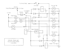 wiring gurus brake light signal light in one yamaha xs650 forum