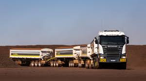 Hauling Up To 220 Tonnes With The Biggest Scania In The World ...