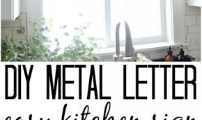 signs decorative metal letters wall 99 for your wall