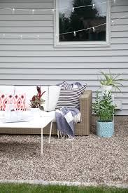 Diy Pea Gravel Patio Ideas by How To Make A Diy Pea Gravel Patio Modern Chemistry At Home
