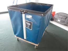 Uline H 2647 18 Bushel Basket Cart