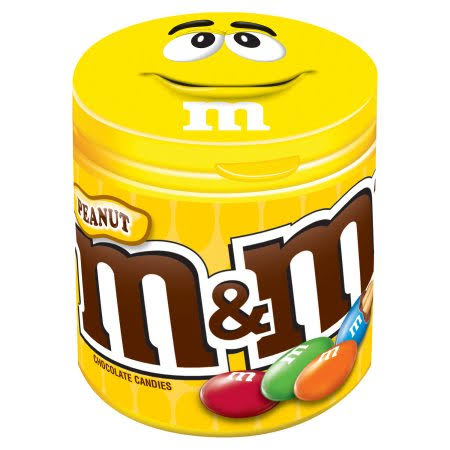 M&M's Peanut Chocolate Candy - 99.2g