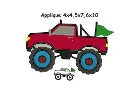 Monster Truck Applique Design - 4x4,5x7,6x10 Instant Download From ... Grave Digger Clipart 39 Fire Truck Drawing Easy At Getdrawingscom Free For Personal Use Vintage Stitch Applique Market Modern Monster Quilt Tutorial Therm O Web Blaze Design 3 Sizes Instant Download Heart Shirt Harpykin Designs Trucks Stock Vector Art More Images Of Adventure 165689025 25 Sewing Patterns Kids Swoodson Says Blazing Five By Appliques With Character Clipartxtras School Bus Lunastitchescom Easter Egg Dump Tshirt Raglan Jersey Bodysuit Bib