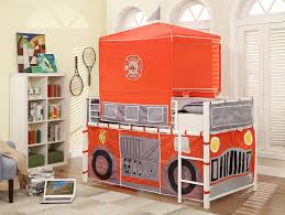 Amazon.com: Homelegance B2028-1 Fire Truck With Tent Metal Loft Bed ... Interior Essential Home Slumber N Slide Loft Bed With Manual New With Pull Out Insight Bedroom Fire Truck Bunk Engine Beds Tent Christmas Tree Decor Ideas Paint Colors Imagepoopcom Diy Find Fun Art Projects To Do At And Bed Fniture Fire Truck Bunk Step 2 Firetruck Light Bedding And Decoration Hokku Designs Twin Reviews Wayfair