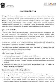 Seguro Escolar Coacalco De Berriozábal