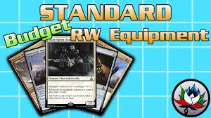 mtg deck standard mtg r w equipment allies budget standard deck tech for magic