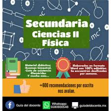 Planeaci³n argumentada Secundaria Fsica Ciencias II ciclo 2017 2018