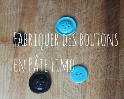 tuto comment fabriquer des boutons en pate fimo