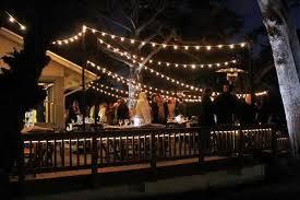 Hanging lights for backyard